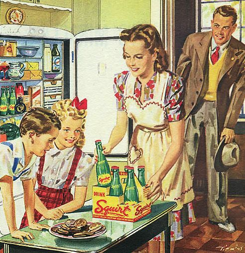 """Squirt - 1946 {Dad loved Squirt!.....So much so, that he started calling the baby of the family """"Squirt"""".}"""