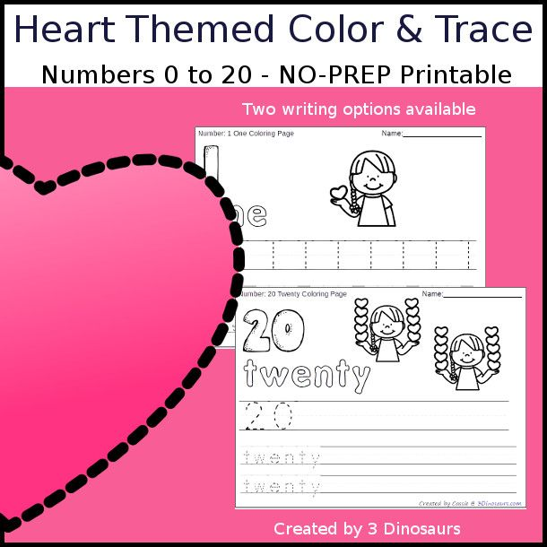 heart diagram with numbers index listing of wiring diagramsno prep heart themed number color and trace easy no prepno prep heart themed number color