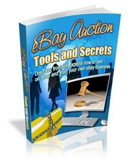 Ebay Auction Tools And Secrets Plr Ebook Download At Http Www Exclusiveniches Com Ebay Auction Tools And Secrets Things To Sell Selling On Ebay Ebay Tool