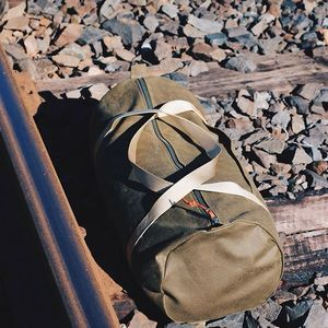 Sneak peak Sunday 1/3. The Lightweight Excursion Duffle, shown in moss. #ForeverForward