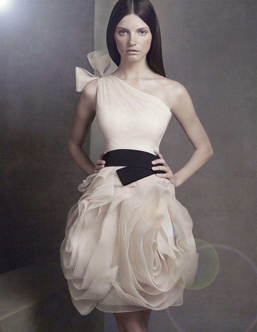 Red wedding dresses vera wang  Perfect Bridesmaids by Vera Wang  Very Vera xo  Pinterest  Vera