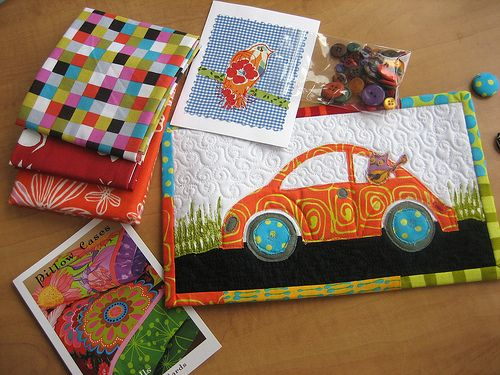 love the vw quilt