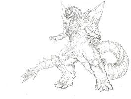Space Godzilla By Tgping Space Coloring Pages Space Coloring Sheet Coloring Pages