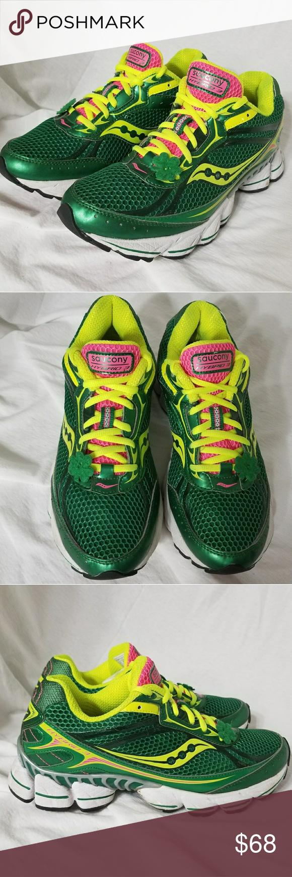 d06f58c1 SAUCONY Szv 8.5 Shamrock Hybrid 3 Shoes Brand: Saucony Item: *Size ...
