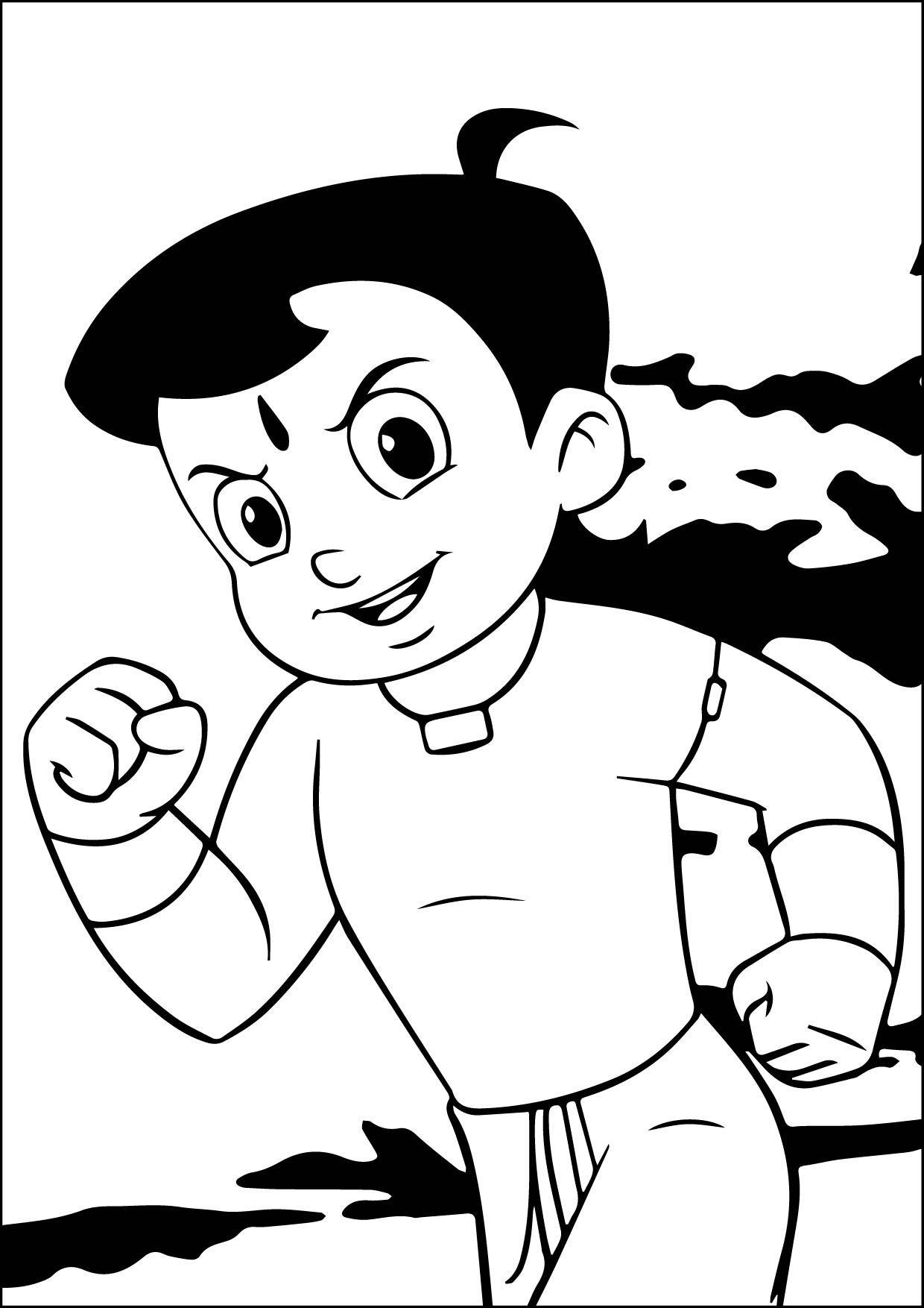 Chhota Bheem Coloring Pages Games. Chhota Bheem Coloring Pages  wecoloringpage Pinterest Check