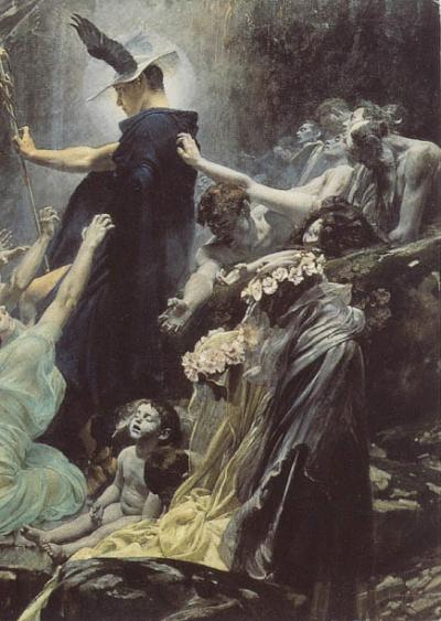 The Souls Of Acheron : souls, acheron, Ludwig, Romanov, Realismo, Arte,, Renacentista,, Sueños