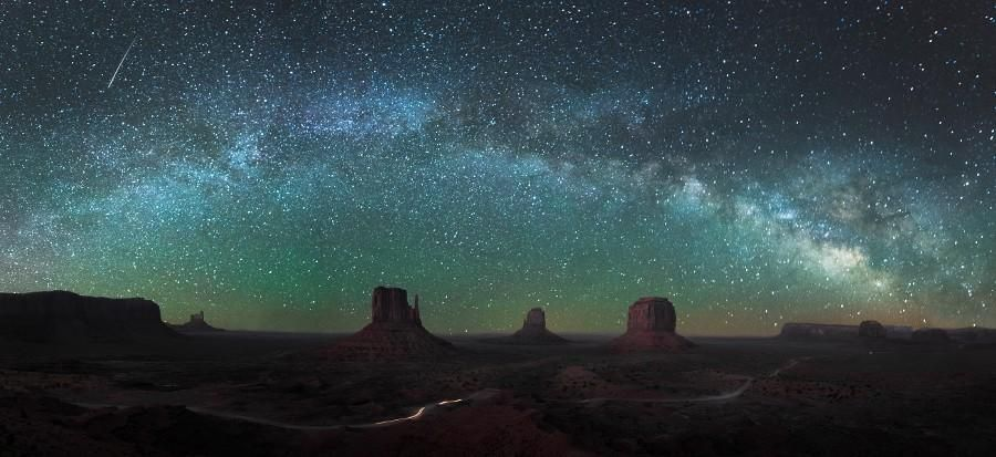 Monument Valley Milky Way by Mike Mezeul II
