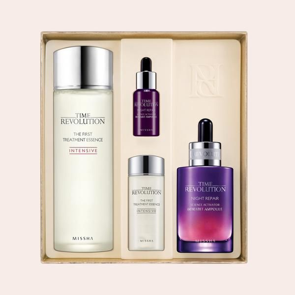 Missha Time Revolution Best Seller Special Set Korean Skin Care From Take Good Care Skin Care Acne Skin Care Dry Skin Treatment