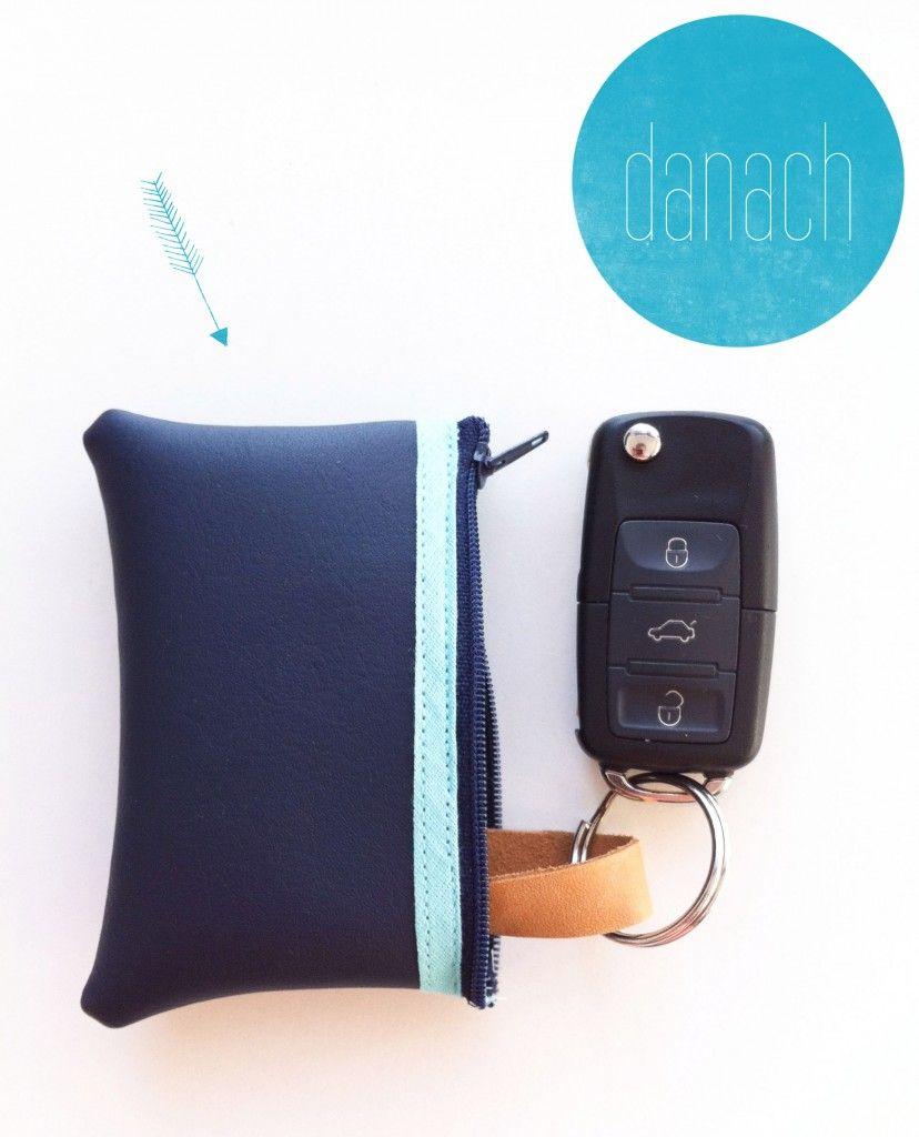 Autoschlüssel-Täschchen
