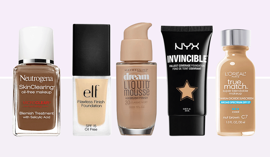 Best Foundations for AcneProne Skin 2017 Reviews Best