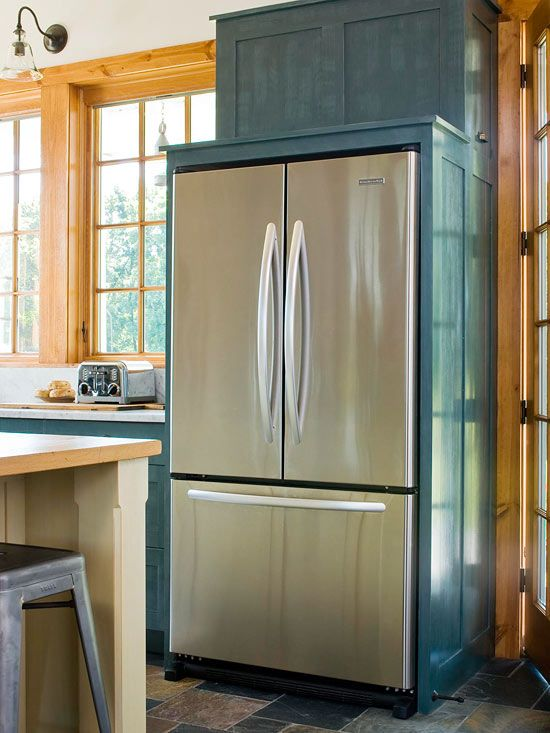 French Door Refrigerators Narrow French Doors On These Fridge Models Are  Great Space Savers, Easing
