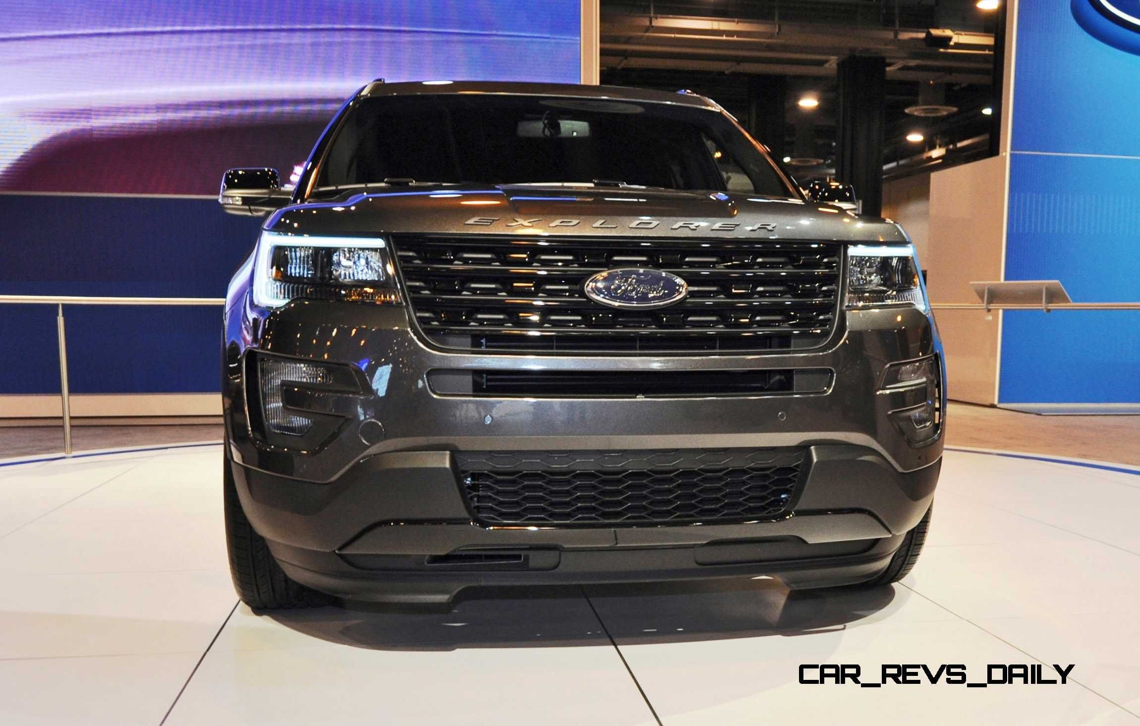 ford - New 2015 Ford Explorer Black Color