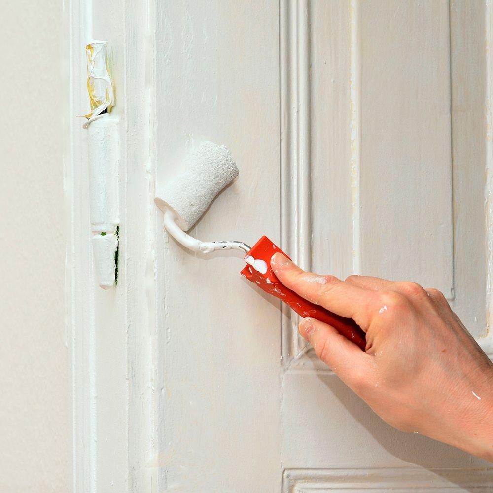 Cómo pintar una puerta de madera en blanco... ¡sin