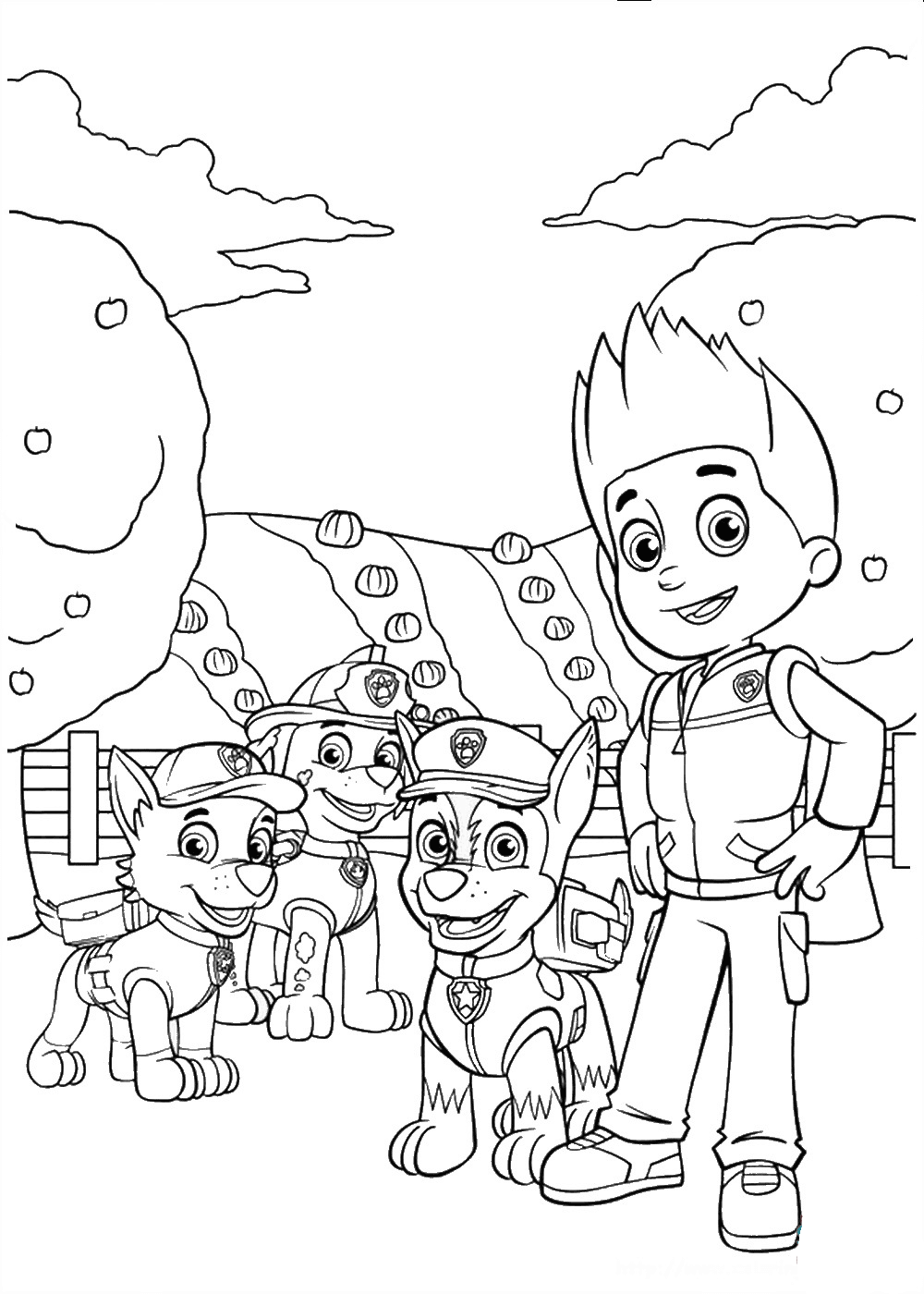 Quatang Gallery - Hosted Site Search Discovery For Companies Of All Sizes In 2020 Paw Patrol Coloring Pages Paw Patrol Coloring Paw Patrol Printables