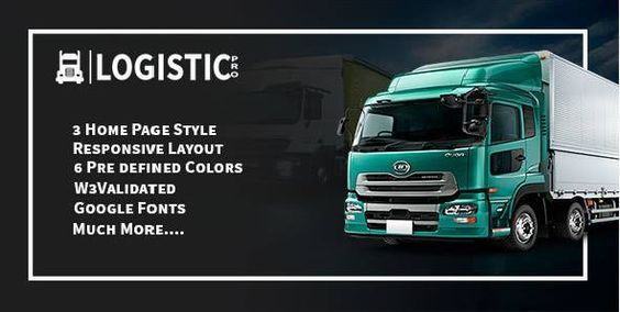 Logistic Pro is modern and stylish HTML Template with design