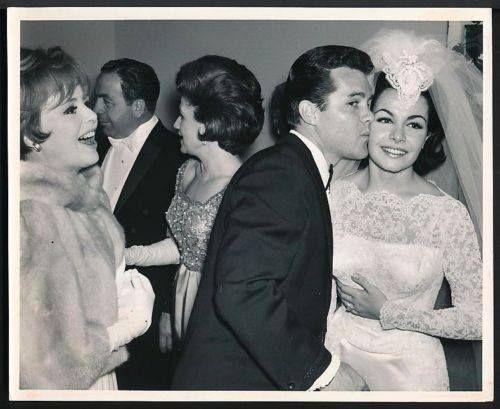 Deborah Walley And John Ashley Attend Annette S Wedding Reception In 1965