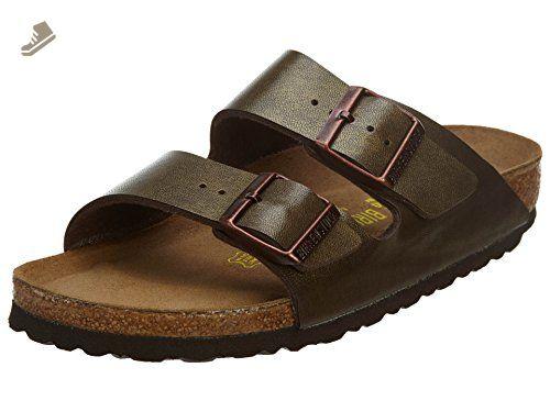 meet new appearance super quality Birkenstock Arizona SFB Soft Foot Bed Sandal - Golden Brown ...
