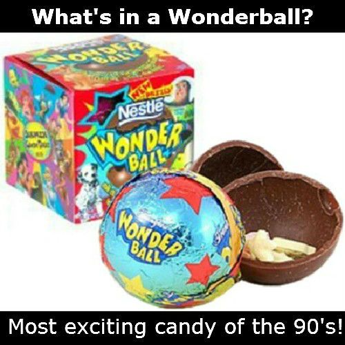 Omg I Remeber These 90 S Kids Wonderball Candy Lol I Ruined It