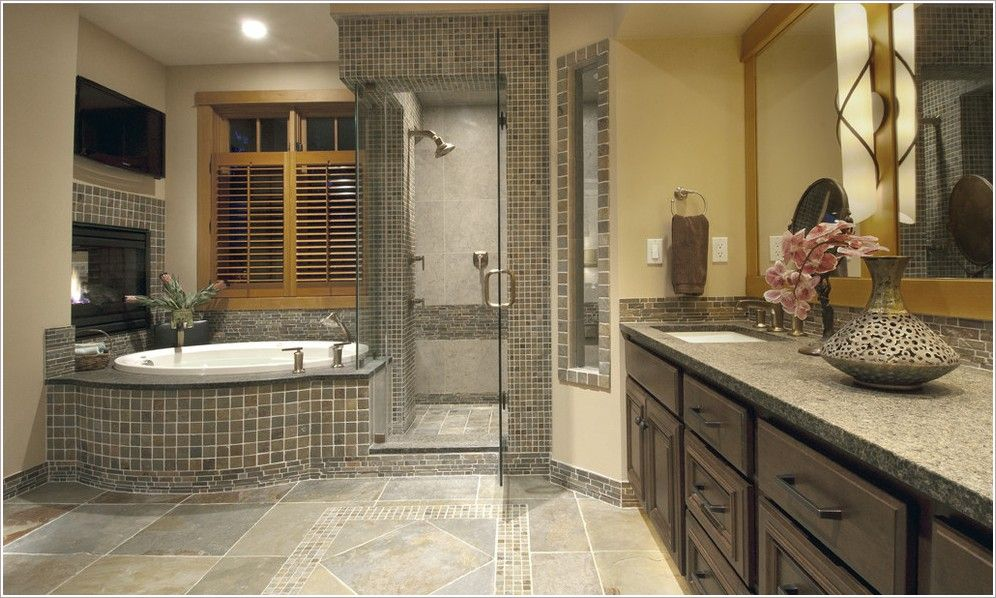 Mosaic Bathroom Designs Best Mosaic Bathroom Floor Tiles Ideas And Tips You Will Read This