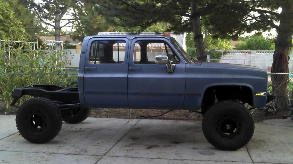 89 Crew Cab Truggy Buy It Quick Before I Start Parting It Out Ck5 Forums Ford Crew Cab Crew Cab Cool Trucks