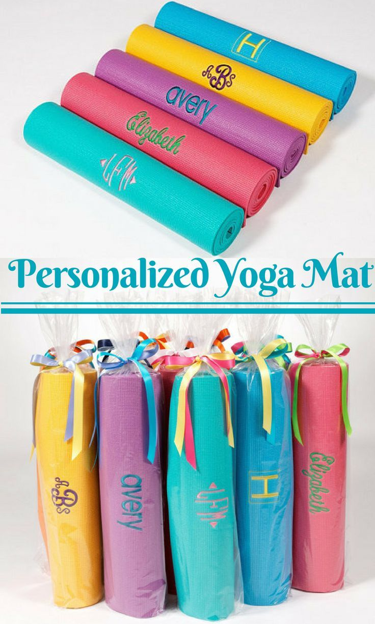 Embroidered yoga mats are a great gift to yourself or yoga