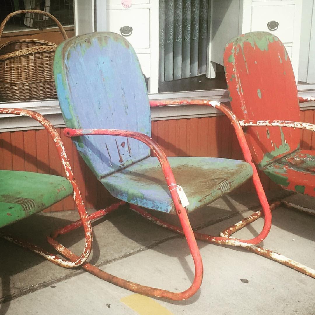 Vintage Metal Lawn Chairs >> Arvin Vintage Metal Chair See History At Www Midcenturymetalchairs