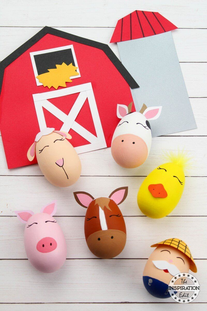 Old Macdonald Farm Animal Crafts - Craft Play Learn