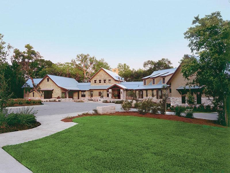 Gorgeous Texas Ranch Style Estate Ranch House Exterior Ranch Style Homes Ranch Style Home