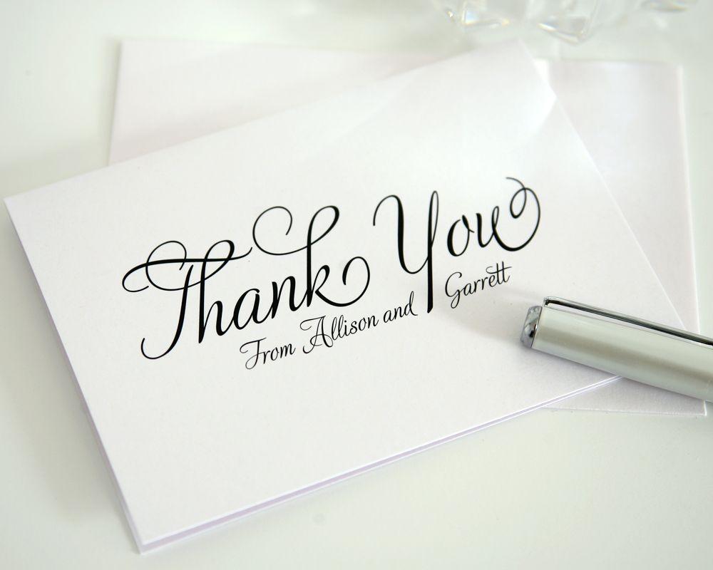 Fairytale Script Thank You Cards Wedding fayre Card wedding and