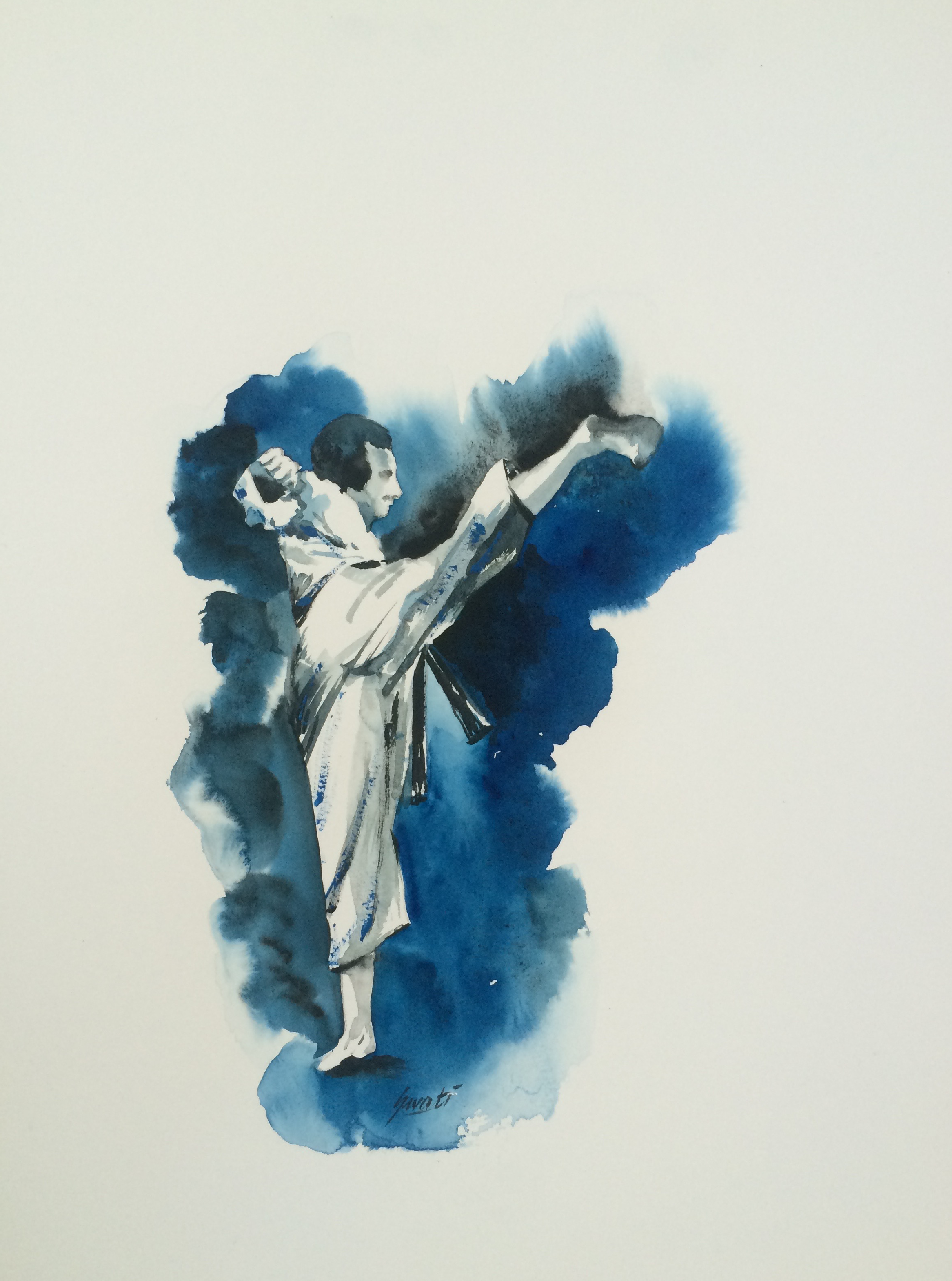 Mavashi Giri Shotokan Karate World Of Color Shotokan Karate Art
