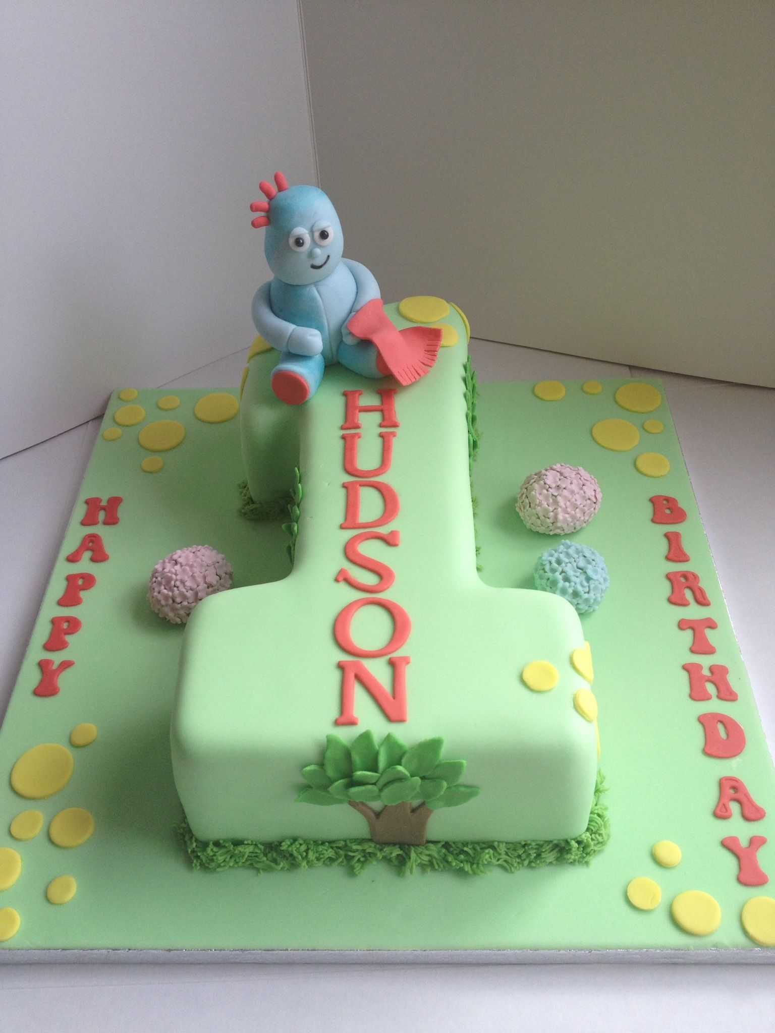 In the night garden iggle piggle cake | In the Night Garden Cakes ...