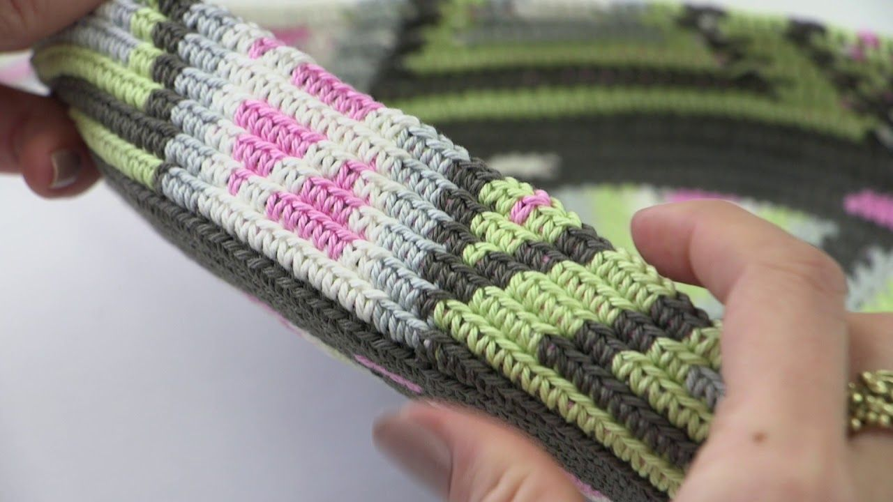Fair Isle Haken Rond Haken Youtube Haken Pinterest Crochet