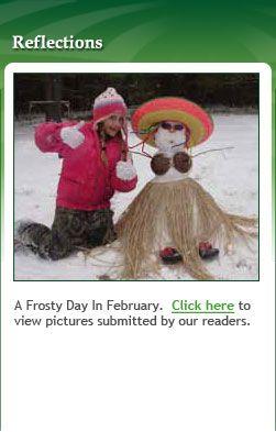 February 2012:  Frosty February Photos