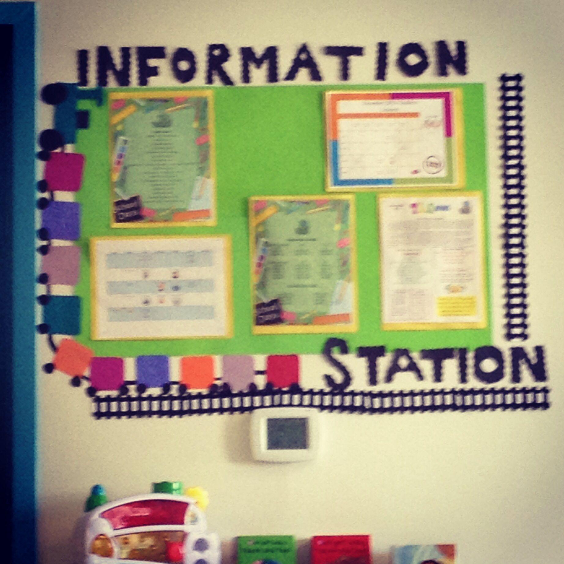 Parent info board! | Parent Involvement | Pinterest