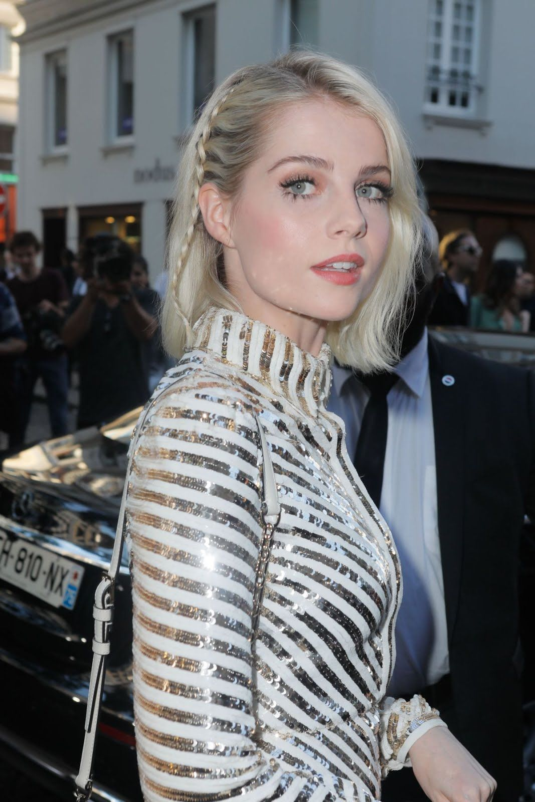 Lucy Boynton At Valentino Show At 2018 Haute Couture ...