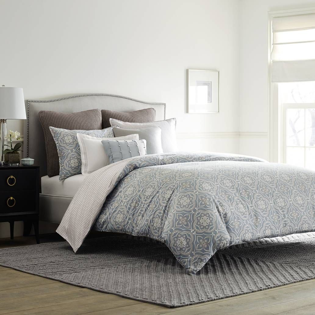 Product Image For Real Simple® Anya Reversible Duvet Cover