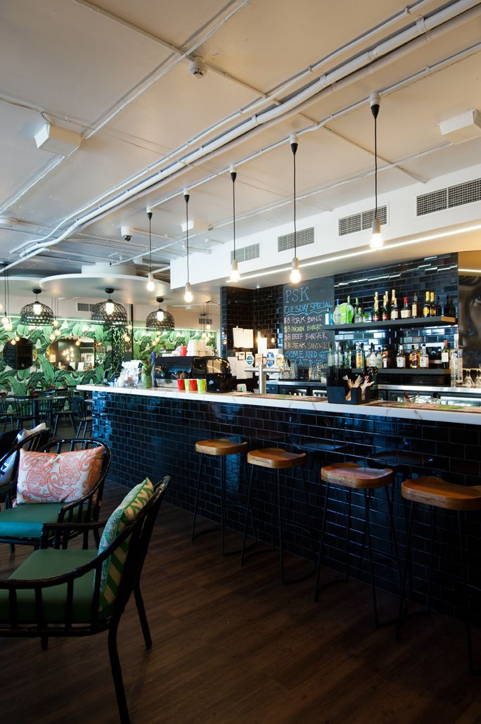 Peel St Kitchen Bar Restaurant Fitout South Brisbane Australia Designed By Ellivo Architects Www Ellivo C Kitchen Bar Brisbane Restaurants Cafe Bar