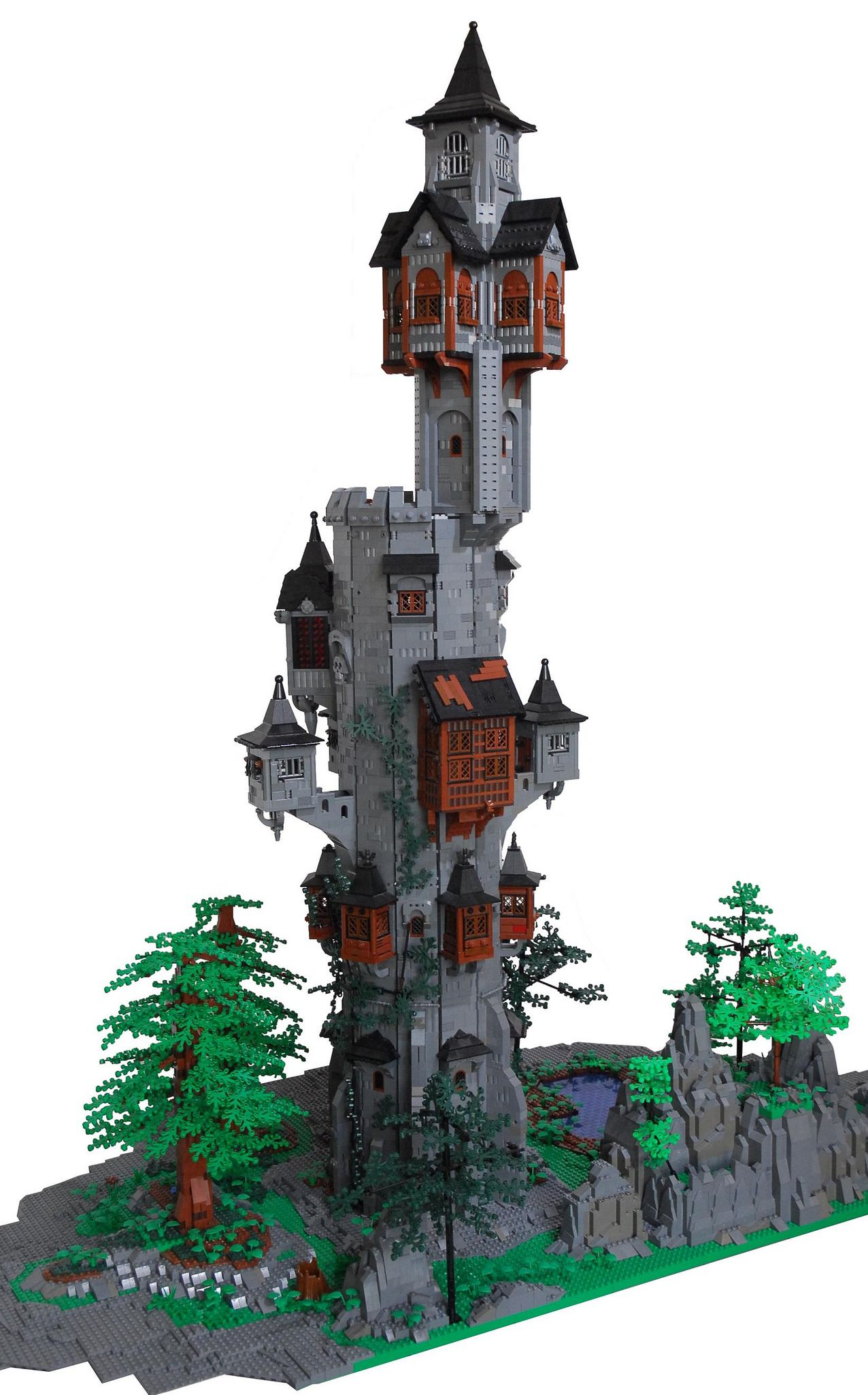 The tower lego lego building and lego creations