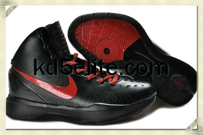 323358dd9157 Nike Zoom Hyperdunk Elite Blake Griffin Away Black University Red PE ...