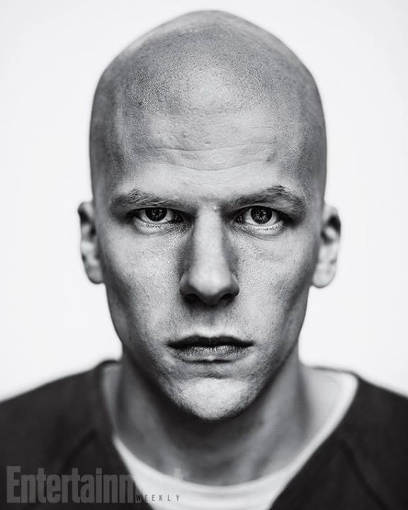 Jesse Eisenberg as Lex Luthor in Batman v Superman: Dawn of Justice Source: Entertainment Weekly
