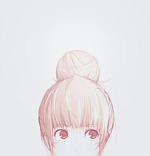 Cute Anime Girl's Head~ :)