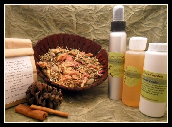 Natural Home Care Gift Basket by BeazersGarden on Etsy, $45.00
