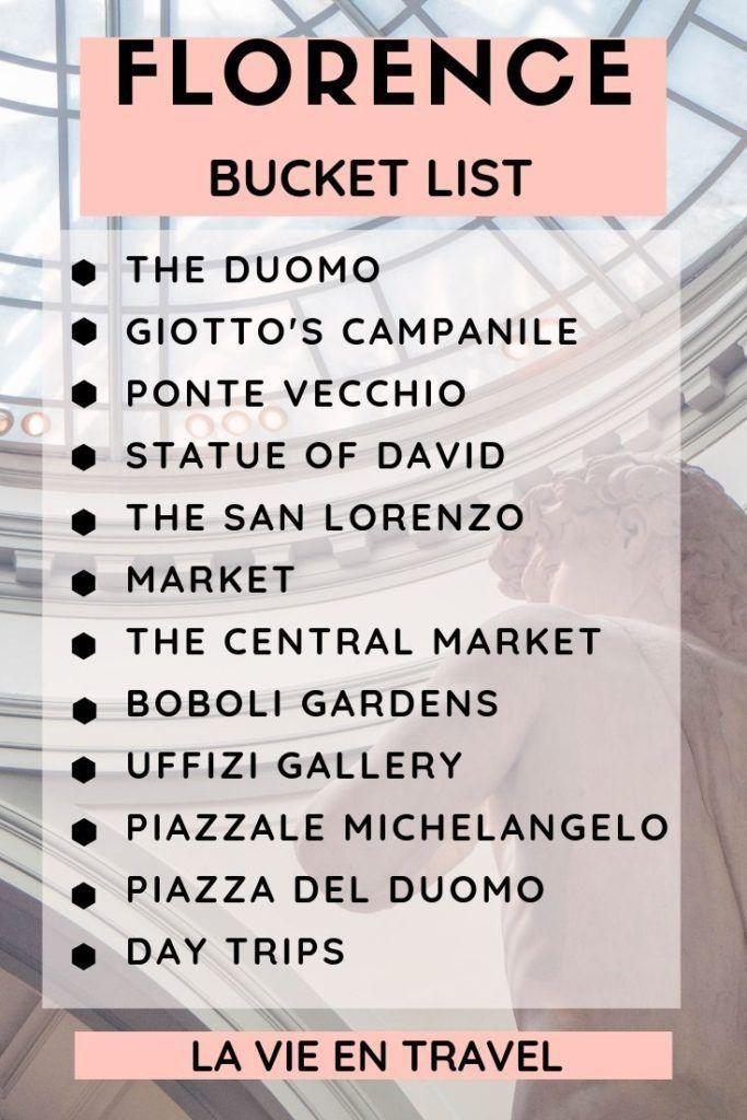 Que Faire A Florence Voyage Italie Que Voir A Florence En Une