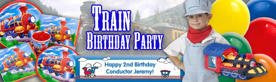 Train Party Birthday Train Party Supplies Decorations at