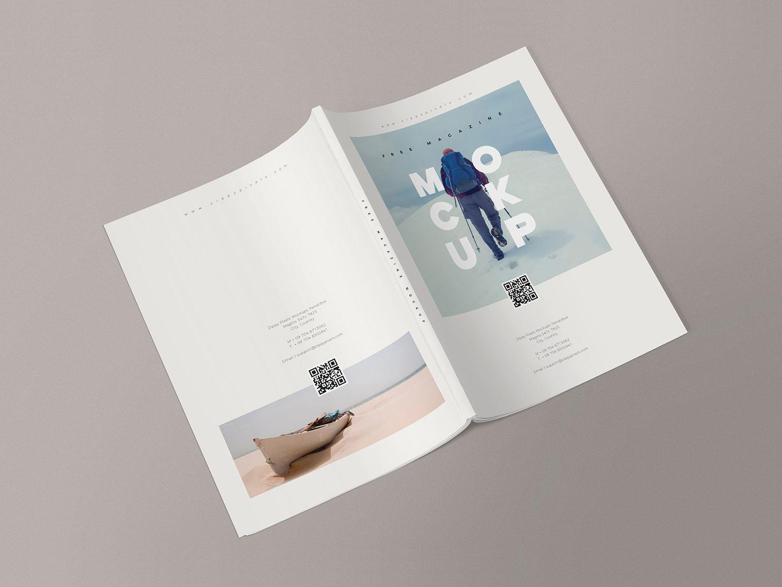 Free Magazine Mockup Templates Free Mockup Magazine Mockup Brochure Mockup Free Magazine Design