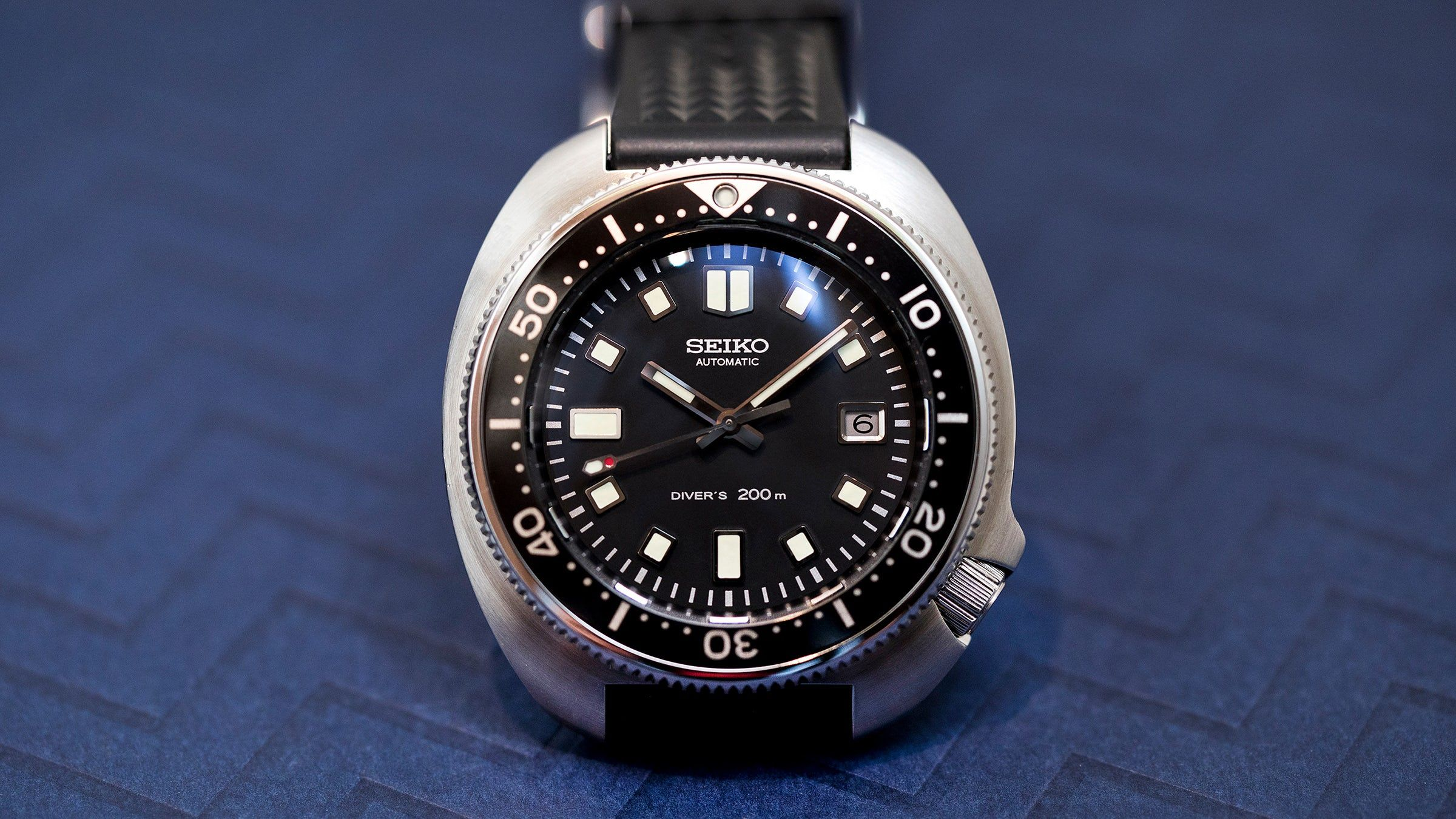 47a9285b2 Hands-On: The Seiko Prospex 1970 Diver's Re-Creation Limited Edition SLA033  - HODINKEE