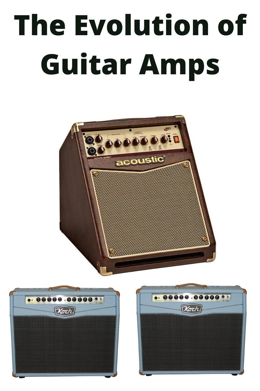 The Evolution Of Guitar Amps Acoustic Guitar Amp Guitar Amp Fender Acoustic