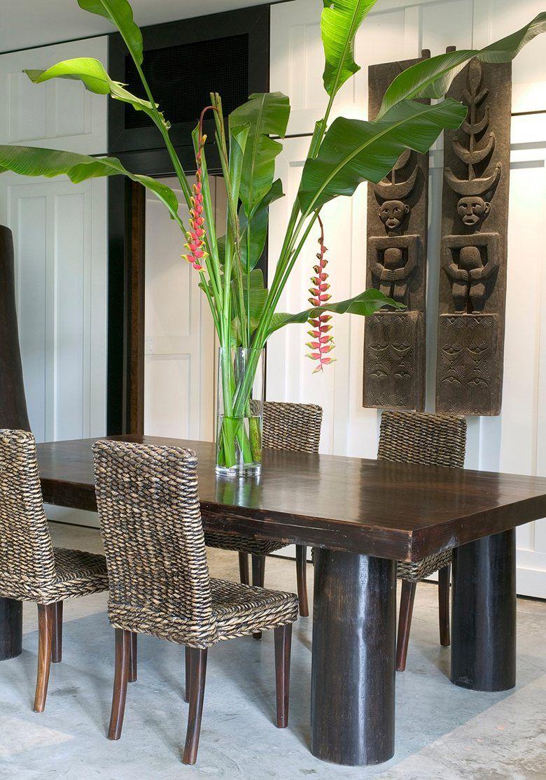 Ordinaire Tropical Dining Room Ideas