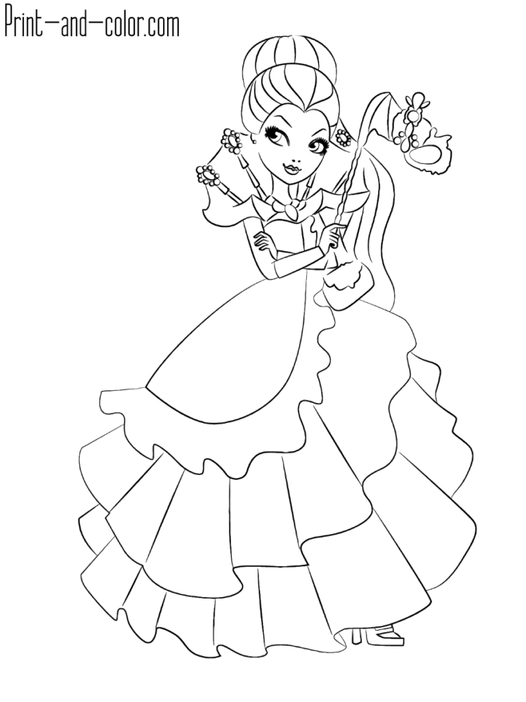 Ever After High Coloring Pages Print And Color Com Coloring Pages Fairy Coloring Pages Fairy Coloring [ 1024 x 768 Pixel ]