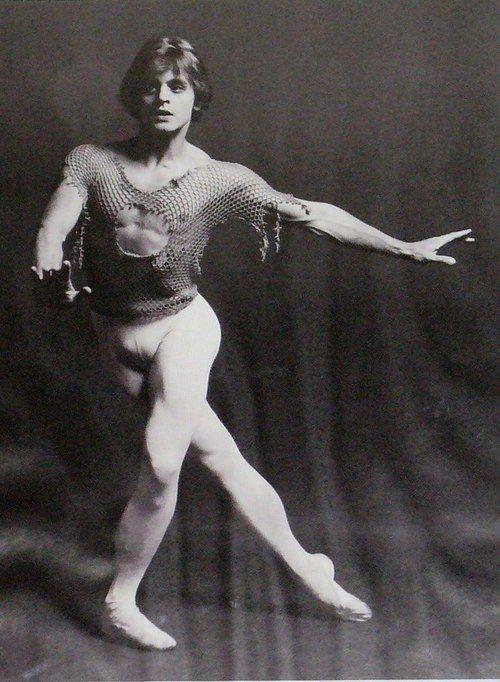 Famous russian male ballet dancer